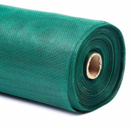 Üvegszálas szúnyogháló zöld 150cmx30m