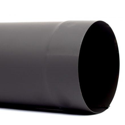 105 füstcső fekete (80cm)