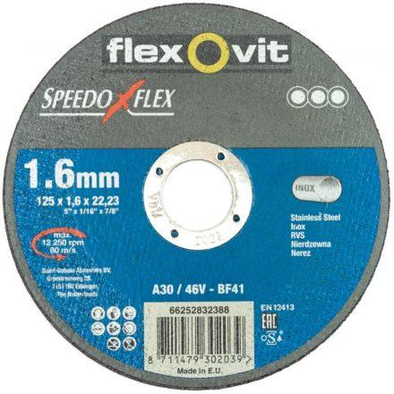 125x1mm profi vágókorong fém-inox