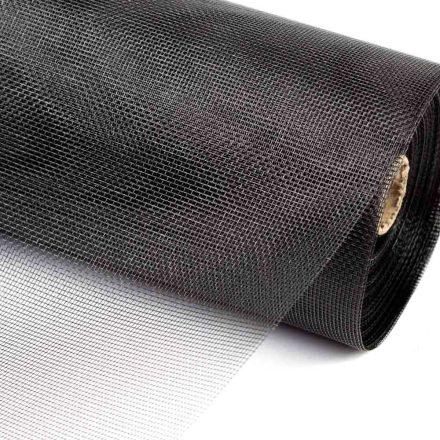 Üvegszálas szúnyogháló fekete 100cm