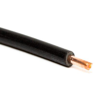 MCu 1,5mm tömör vezeték fekete - H07V-U