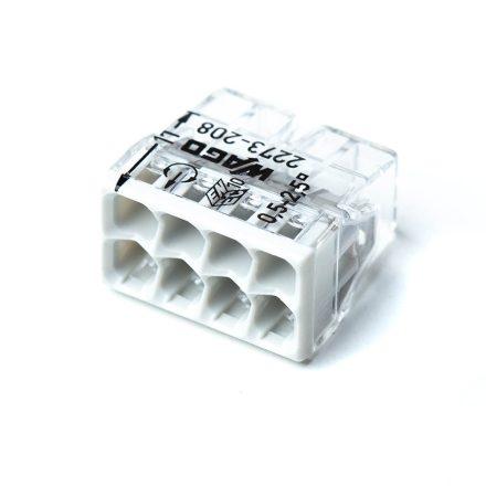 8*2,5mm2 vezeték összekötő WAGO