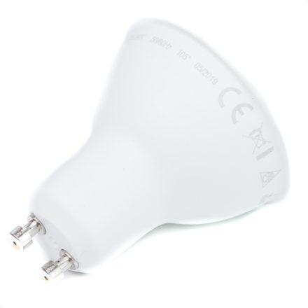 5W GU10 LED fényforrás 3000K LUMEN