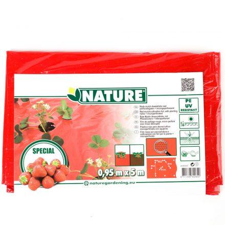 Takarófólia eperhez 0,95*5m piros
