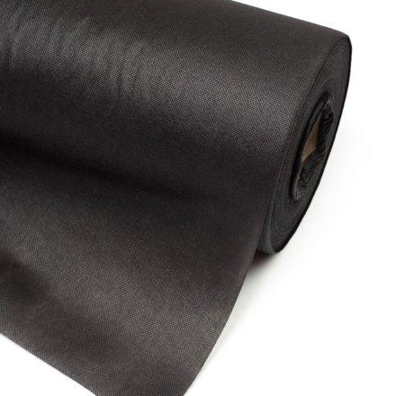 200cm geotextil UV stabil fekete 100g/m2